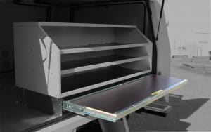 Slide Out Workbench