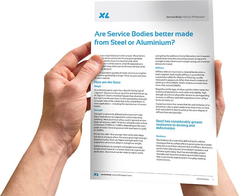 Whitepaper - Are Service Bodies better made form steel or aluminium